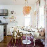 Mesas redondas de diseño para cocinas modernas