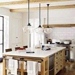 Cocinas rústicas con encimeras de mármol: ¿son una buena elección?