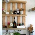 12 muebles hechos con palets para cocinas