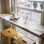 Reivindicando mesas para cocinas pequeñas…
