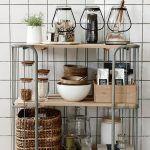 Cómo usar carritos de cocina en la decoración de la casa