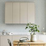Elige el papel pintado adecuado para actualizar tu cocina