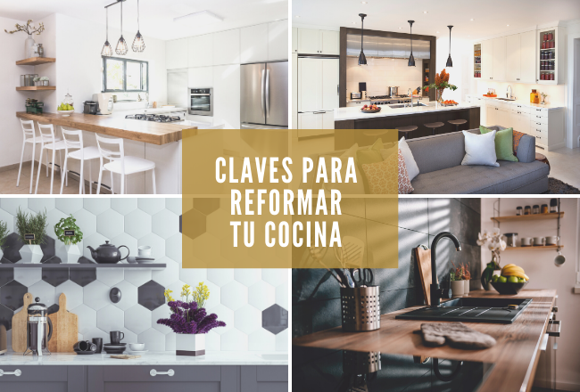 Claves para reformar la cocina según el espacio disponible y la luz natural.