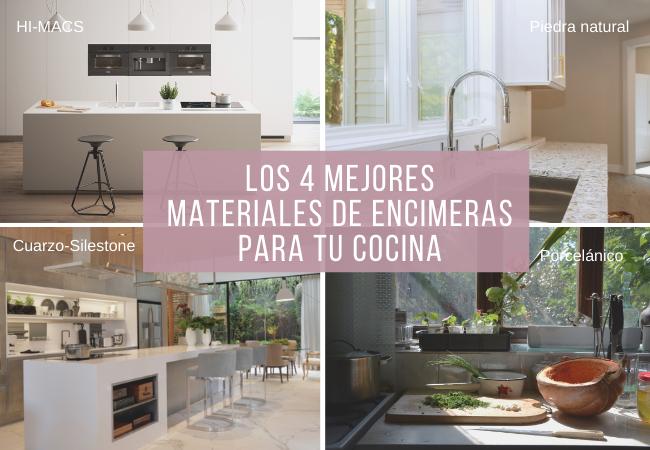 Mejores encimeras de cocina: 4 materiales con ventajas e ...
